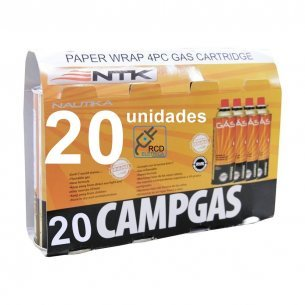 Kit 20 Unidades De Refil Campgás Original Nautika - Ntk