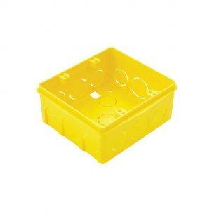 Caixinha Luz Amarela Tramontina 4x4 C/20 Unidades