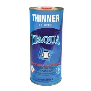 Thinner Itaqua It-16 Multi-uso  900ml C/12 Unidades