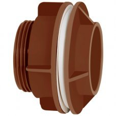 Adaptador C/flange Corr Plastik 3/4 Marrom C/10 Unidades