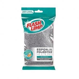 Esponja Multiuso Poliester Flash Limp C/10 Unidades