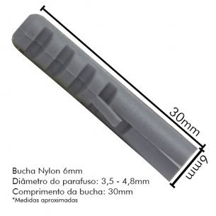 Bucha Fix.nylon Sfor 06 C/500