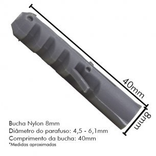 Bucha Fix.nylon Sfor 08 C/500