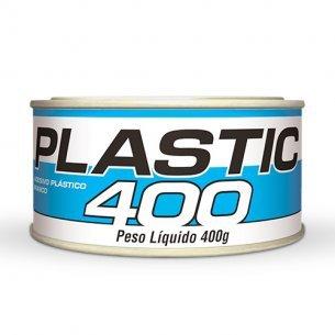 Massa Plastica 400gr Plastic Branca C/12 Unidades