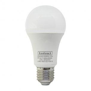 Lampada Led Bulbo 12w 6500k Biv Intral