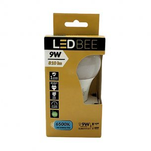 Lampada Led Bulbo 09w 6500k Biv Led Bee