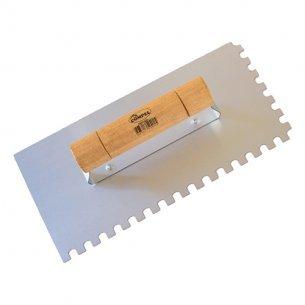 Desempenadeira Aco Dentada Compel 12x25 C/12 Unidades