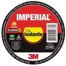 Fita Isolante 3m Imperial  20 Mts C/10 Unidades
