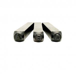 Abecedario De Bater  Brasf. 3mm6020
