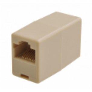 Emenda Femea Simples Para Plug Rj11  033-1264 C/10 Unidades