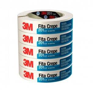 Fita Crepe 3m Uso Industrial 201 18x50m  Hb004415368 C/6 Unidades