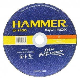 Disco Inox Hammer 7 X1.6mm  Gydi1100 Kit C/10