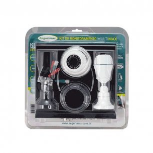 Camera De Seguranca Segurimax 4canais+2cameras Hd Kit  27636